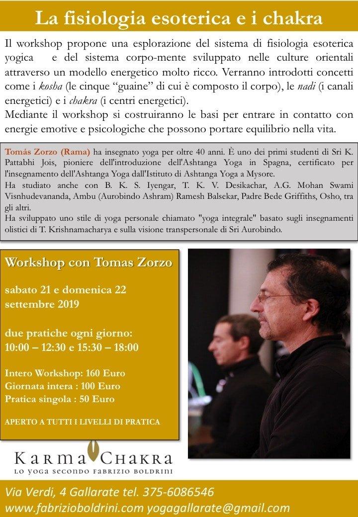 Tomas Zorzo 20-21 Settembre 2019