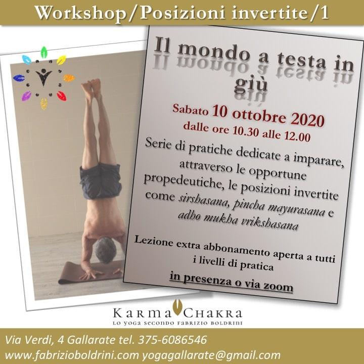Workshop posizioni Invertite