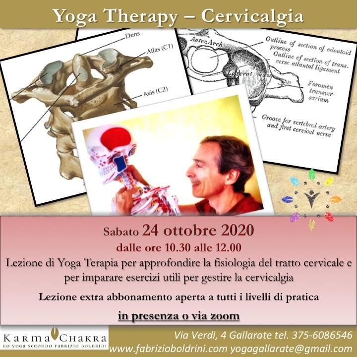 Yoga Terapia - Cervicalgia